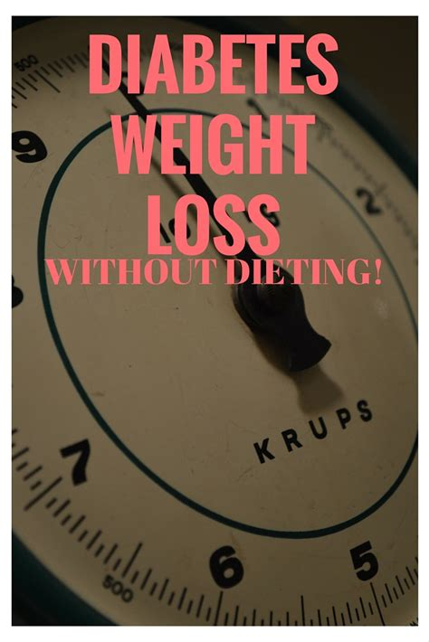 weight loss and diabetes picture 1