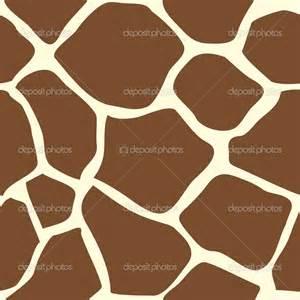 giraffe skin print stencil picture 3