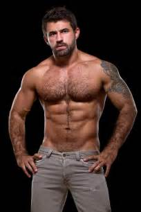 hairy muscle beard mens picture 3