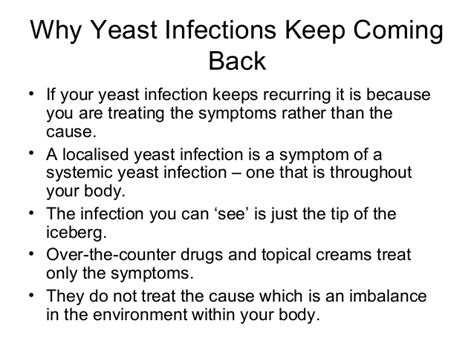 what happens if a yeast infection is not picture 12