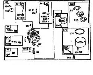 briggs 185432 mikuni carb view picture 5