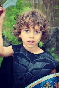 brown curly hair boys picture 15