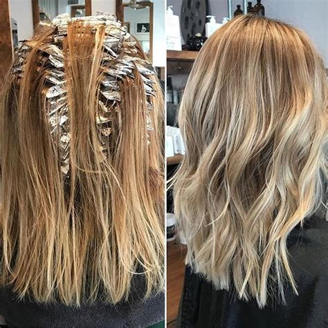 foil hair highlights hair regrowth picture 11