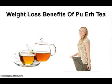 pu erh tea& weight loss picture 1