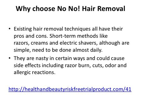 revitol hair removal side effects picture 5