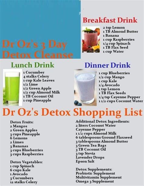 dr. oz liquid detox diet mentioned on jan picture 1