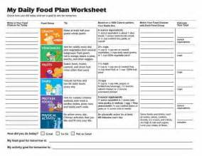 diet plan worksheets picture 6