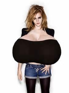 emma watson breast morph picture 1