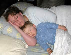 mom and son sleeping picture 6
