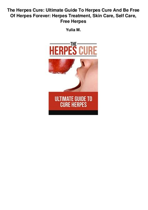 free guide for genital herpes cure picture 12