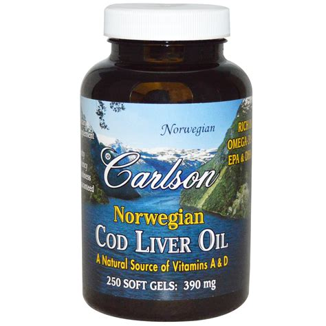 carlson cod liver oil capsules picture 2