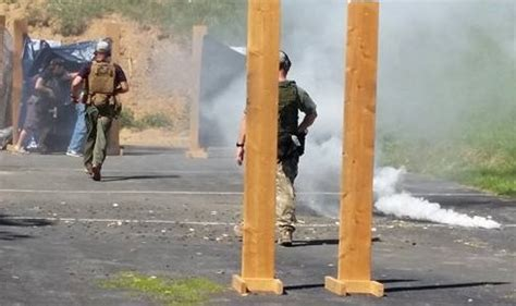 police training smoke grenades picture 1