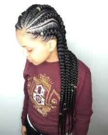 pictures of feed-in cornrow hairstyles picture 14
