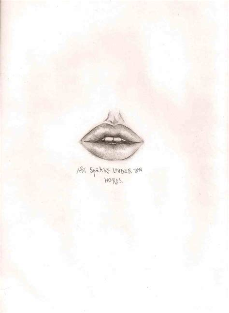 drawing lips picture 1