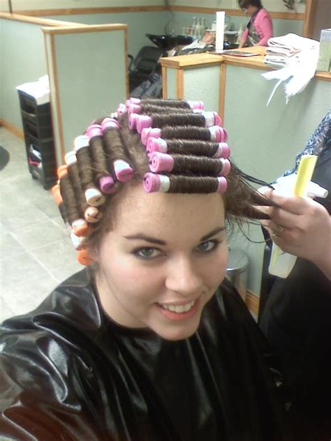 women who like curling crossdressers hair on rollers picture 2