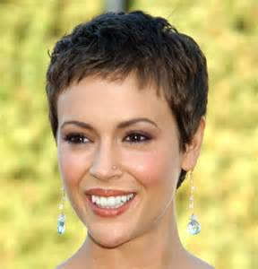 alyssa milano with short hair picture 1