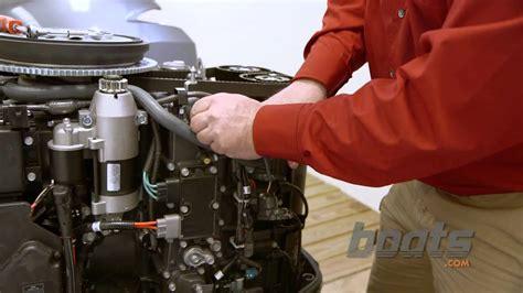 vmax oil change picture 6
