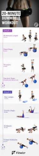 fat burning dumbbell workout picture 1