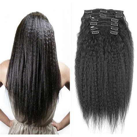 african american hair extension clip ins picture 3