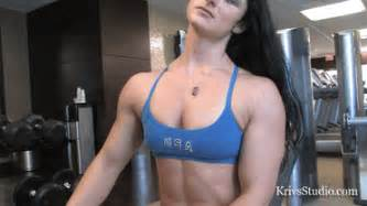 female muscle gif picture 6