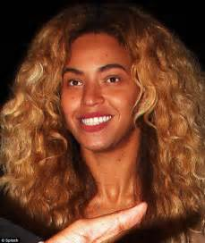 beyonce's real hair picture 7
