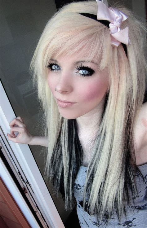blonde and black hair picture 9