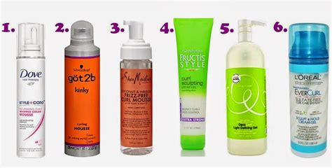 curly hair styling gel picture 7