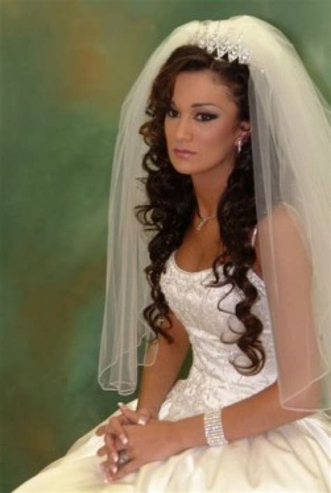 wedding hair styles wh veil picture 2