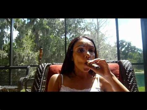 female smoking captain black cigar picture 10