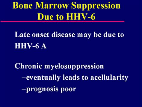 symptoms of bone marrow suppression picture 6