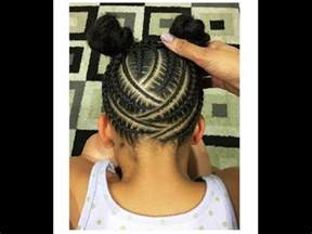 black hair braided styles picture 2