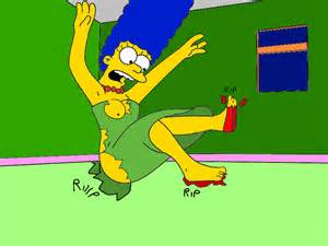 marge simpson breast growth picture 5
