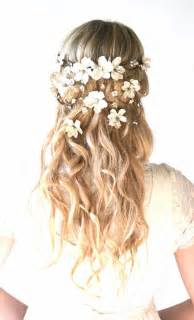 bridal hair styles with flowers picture 3