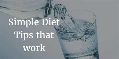 diet tips that work picture 1
