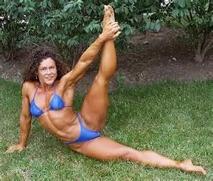 morphed women with muscular legs picture 13