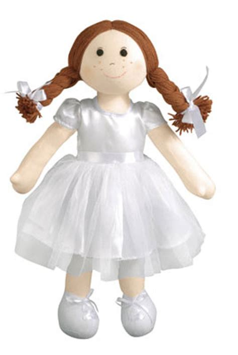 communion doll with red hair picture 3