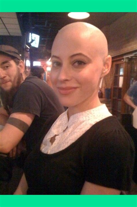 female bald head shave picture 3