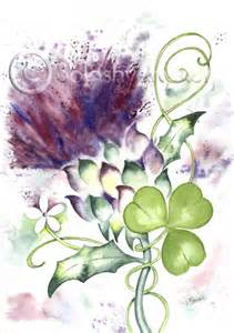 thistle and shamrock picture 3