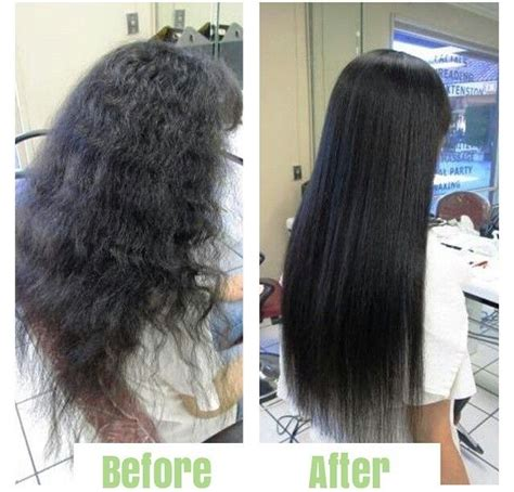 chemical hair straightening picture 15