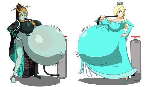 princess rosalina breast inflation picture 9