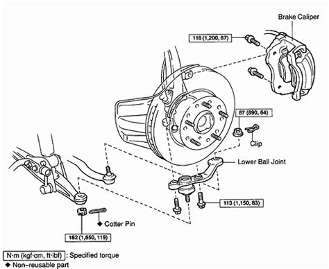 a diagram how to change ball joint on picture 12