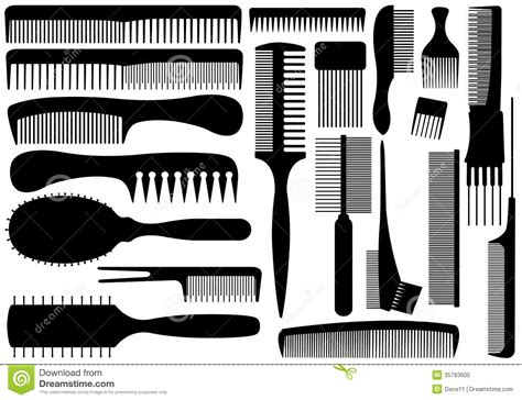 cleaning hair combs picture 14