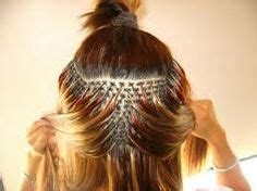 fused hair weaving picture 5