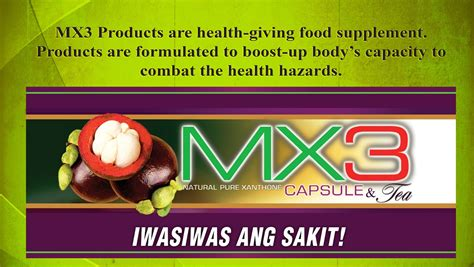 mx3 food supplement product philippines picture 5