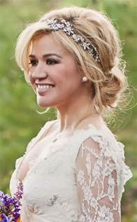 hairstyles for medium length hair for weddings picture 9