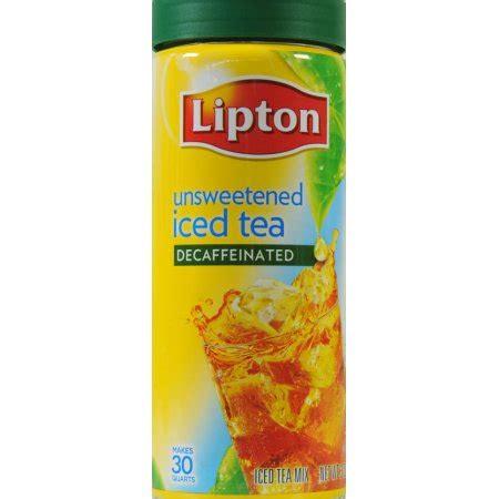 caffeine free diet lipton iced tea mix picture 6