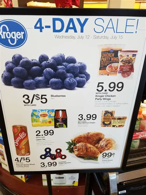 kroger 4 day sale ad picture 2