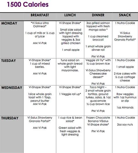 1500 calorie diet plans picture 1