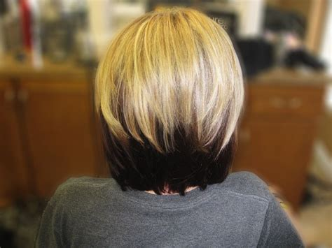 blonde hair with black hair underneath hairstyles picture 15