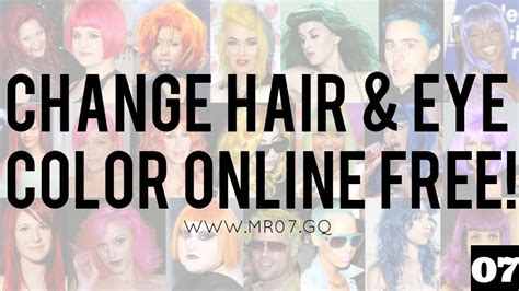 changing hair color online picture 10